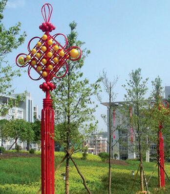LED中国结景观灯001