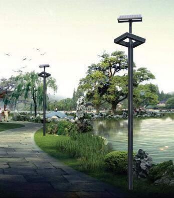 公园河边太阳能路灯001